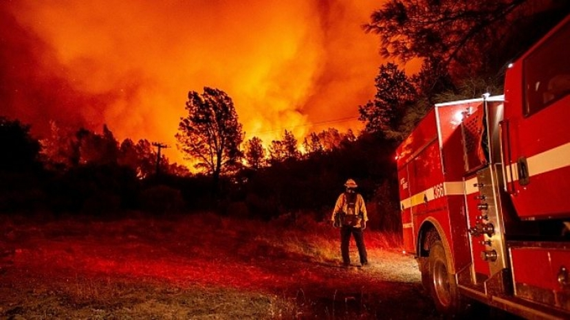 Usa: incendi California, a San Francisco cielo arancione